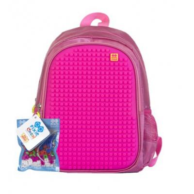 Dětský kreativní pixelový batoh růžový PXB-07-G17