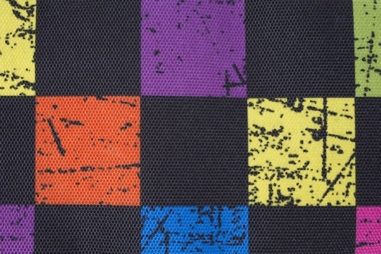 Kreativní pixelová taška přes rameno barevná kostka/světle šedá PXB-04-Y22