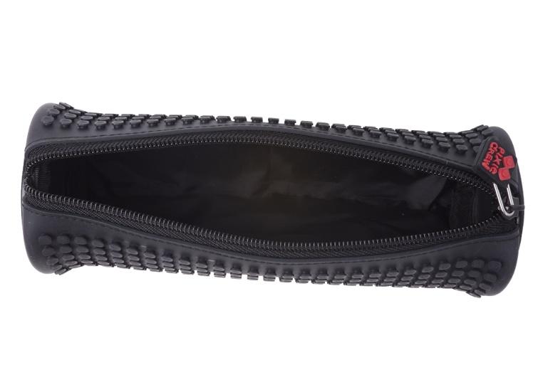 Kreatívny pixelový školský peračník okrúhly čierny PXA-05-L24 ... 4e066bd7260