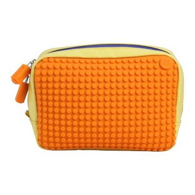 Kreativní pixelová příruční taška Pixelbags žlutá/oranžová B003