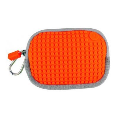 Kreativní pixelové pouzdro Pixelbags oranžové B006