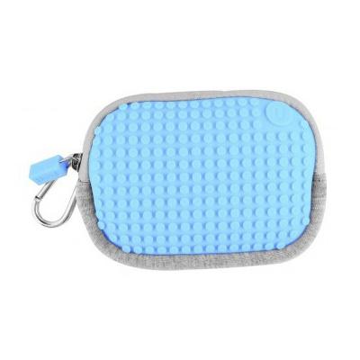 Kreativní pixelové pouzdro Pixelbags modré B006