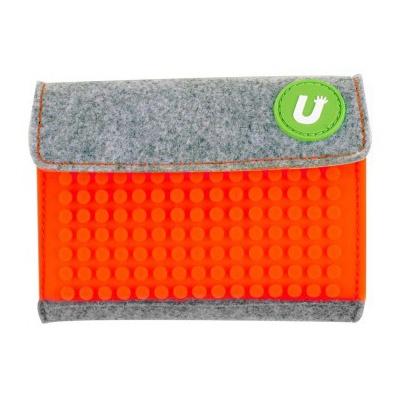 Kreativní pixelová peněženka Pixelbags oranžová B007