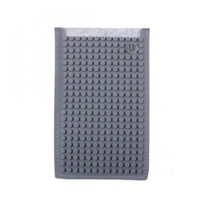 Kreatívny pixelový obal na mobil Pixelbags sivý B009 e3d0b20613b