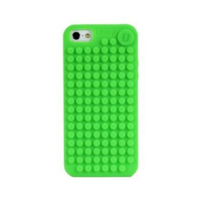 Kreativní pixelový obal na mobil Iphone 5/5S/5C zelený C002