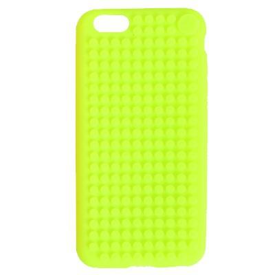 Kreativní pixelový obal na mobil Iphone 6 plus zelený C007