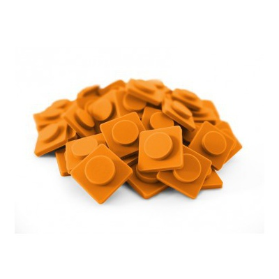Velké pixely Pixelbags oranžové P001