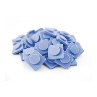 Velké pixely Pixelbags šedo modré P001
