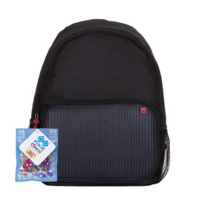 Voľnočasový kreatívny pixelový batoh čierny PXB-01-L24