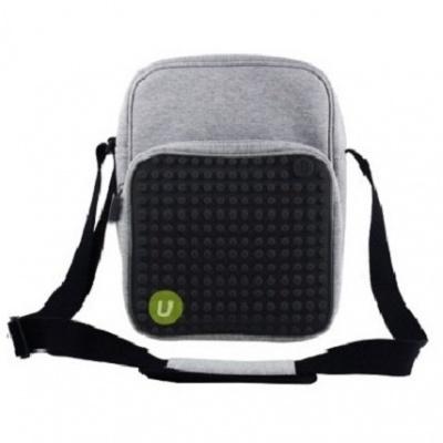 Kreativní pixelová taška přes rameno velká černá A007
