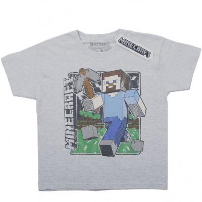 Originální dětské triko Minecraft Steve