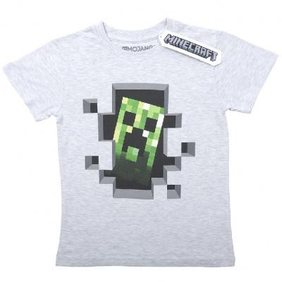 Originální dětské triko Minecraft Creeper Inside