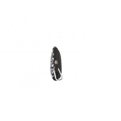 Kreativní pixelové pouzdro PIXIE CREW černo bílé květy PXA-08-03