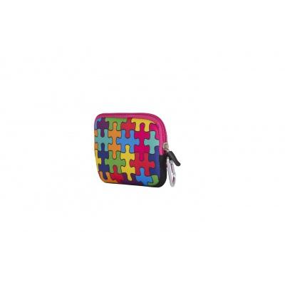 Kreativní pixelové pouzdro PIXIE CREW barevné puzzle PXA-08-09