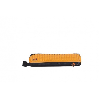 Kreativní pixelový školní penál oranžová/černá PXA-01-L03