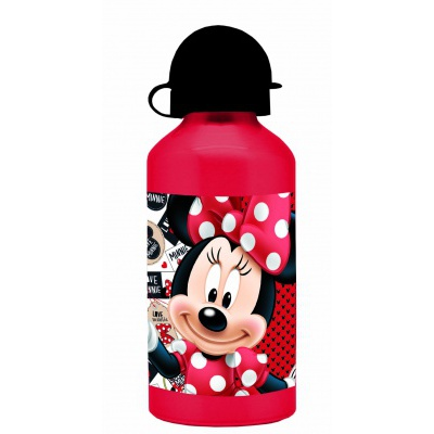 Minnie Mouse hliníková láhev na pití s víčkem B0111-6