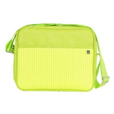 Kreatívna pixelová taška cez rameno neónovo zelená PXB-13-D05