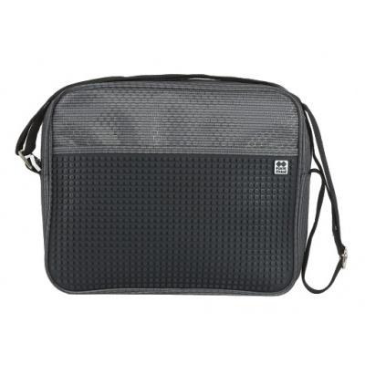 Kreatívna pixelová taška cez rameno čierna PXB-13-L24