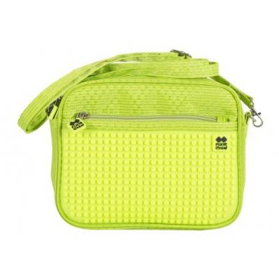 Kreativní pixelová taška přes rameno neon zelená PXB-09-D05