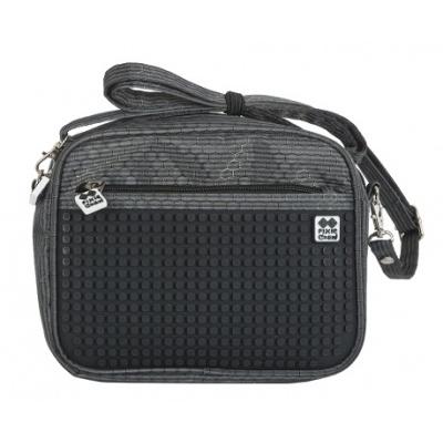 Kreatívna pixelová taška cez rameno čierna PXB-09-L24
