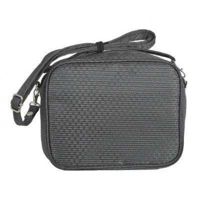Kreativní pixelová taška přes rameno černá PXB-09-L24