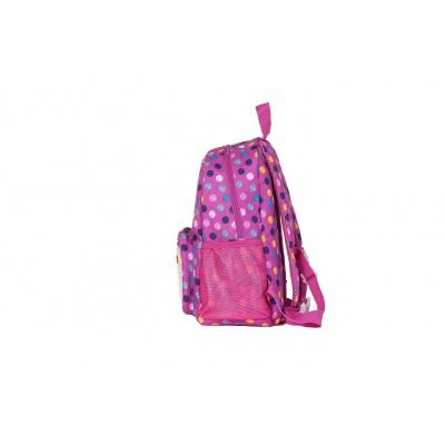 Dětský kreativní pixelový batoh barevné puntíky/fosforová PXB-18-01