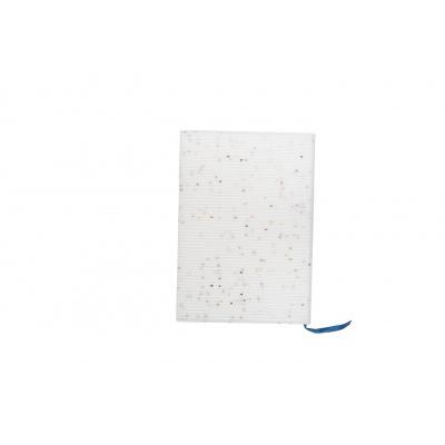 Kreativní pixelový diář s obalem bílé hvězdy PXN-01-G22