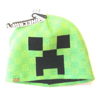 Originální dětská čepice Minecraft