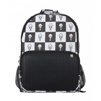 Volnočasový kreativní pixelový batoh KAKI PXB-02