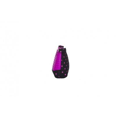Kreativní pixelový školní penál fuchsiová/černá PXA-02-L15