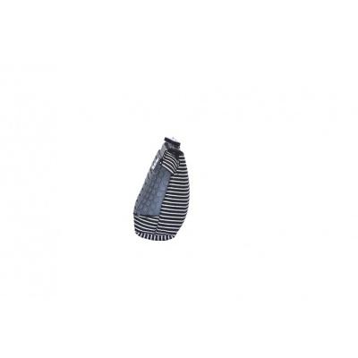 Kreativní pixelový školní penál šedá/černá PXA-02-L23