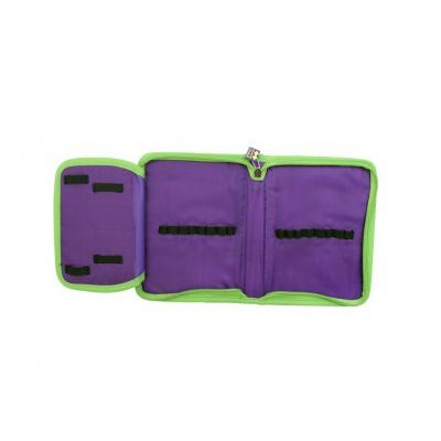 Kreatívny pixelový školský peračník fialová/ružová PXA-03-F17