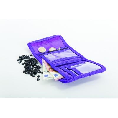 Kreativní pixelová peněženka PIXIE CREW fialová abeceda PXA-10