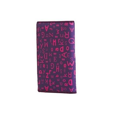 Kreativní pixelový diář s obalem fialová abeceda PXN-07