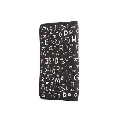 Kreativní pixelový diář s obalem černá abeceda PXN-07