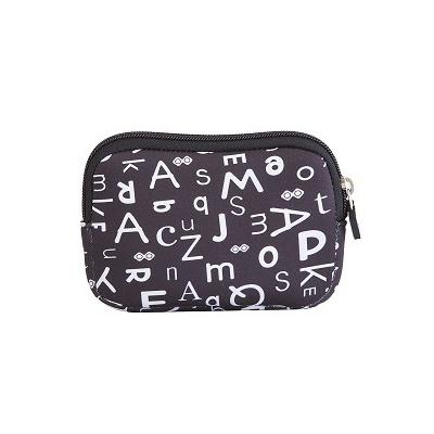 Kreativní pixelové pouzdro PIXIE CREW černá abeceda PXA-08