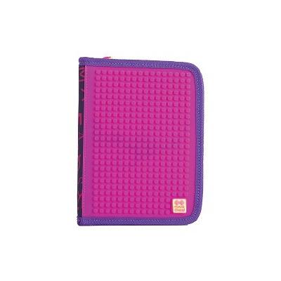 Kreatívny pixelový školský peračník fialová abeceda PXA-04