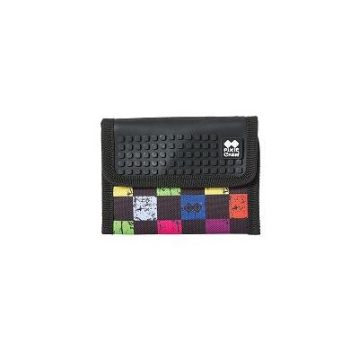 Kreativní pixelová peněženka PIXIE CREW multibarevná kostka PXA-10-16