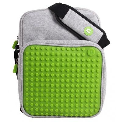Kreativní pixelová taška přes rameno velká zelená A007