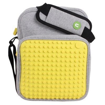 Kreativní pixelová taška přes rameno velká žlutá A007