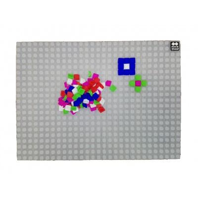 Kreativní pixelová hrací deska transparentní PXX-01-00