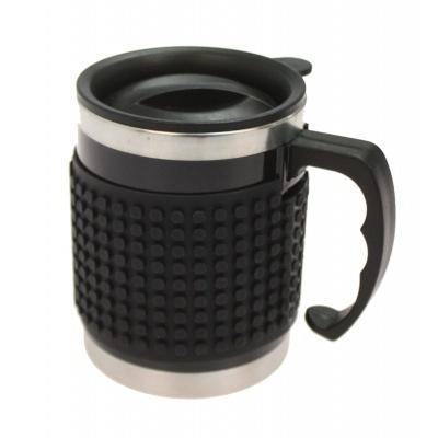 Kreatívny pixelový hrnček čierny PXN-02-24