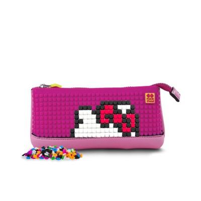 Kreativní pixelový školní penál Hello Kitty - jednorožec PXA-02-88