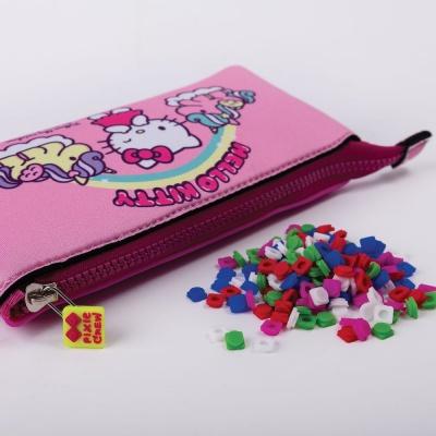 Kreatívny pixelový školský peračník Hello Kitty-jednorožec PXA-02-88