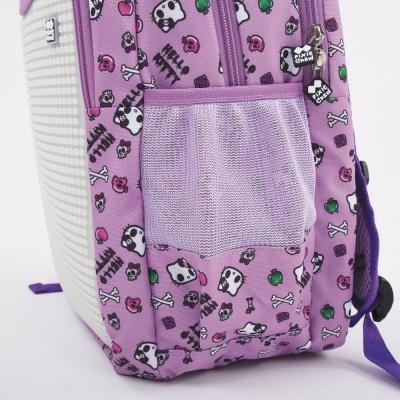 Školní kreativní pixelový batoh Hello Kitty fialová PXB-06-89