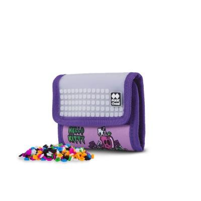 Kreatívna pixelová peňaženka PIXIE CREW Hello Kitty fialová PXA-10-89