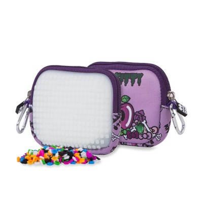 Kreativní pixelové pouzdro PIXIE CREW Hello Kitty fialová PXA-08-89
