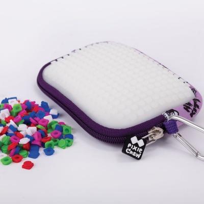 Kreatívne pixelové puzdro PIXIE CREW Hello Kitty fialová PXA-089