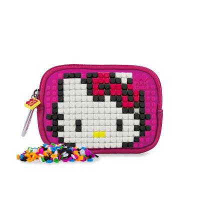 Kreativní pixelové pouzdro PIXIE CREW Hello Kitty - jednorožec PXA-08-88