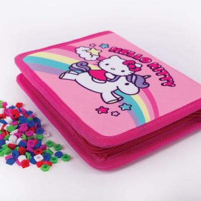Kreativní pixelový školní penál Hello Kitty - jednorožec PXA-04-88